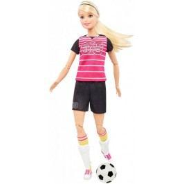 Mattel Barbie Sportowe lalki Piłkarka DVF69
