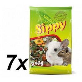 Akinu sucha karma dla szynszyla, koszatniczki Sippy Deluxe- 7x350g