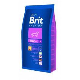 Brit sucha karma dla psa Premium Adult S - 8kg