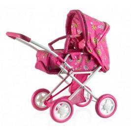 Teddies Wózek dla lalk, głęboki/różowy