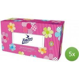 LINTEO satin chusteczki higieniczne – 5 x 200 szt.
