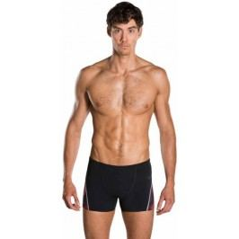 Speedo Kąpielówki Fit Graphic Aquashort Black/Lava Red 32