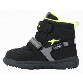 KangaROOS buty zimowe za kostkę Winni 25 czarny