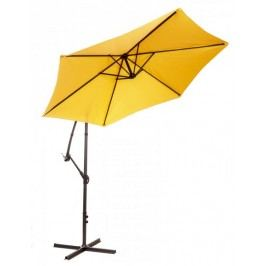 Myard parasol ogrodowy, boczny Miami - pomarańczowy