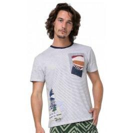 Desigual T-shirt męski Michigan S wielokolorowy