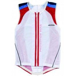 Alpina ochraniacz pleców Jacket Soft Protector White/Red/Blue M (173-178 cm)