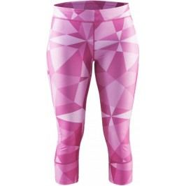 Craft spodeni sportowe Devotion Capri pink print XS