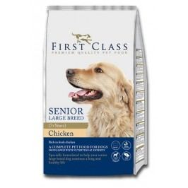 First Class sucha karma dla psa Dog Senior Large Breed Chicken - 12kg