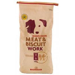 Magnusson sucha karma dla psa Meat&Biscuit WORK 14kg