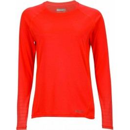 Marmot koszulka sportowa Wm's Crystal LS Neon Coral M