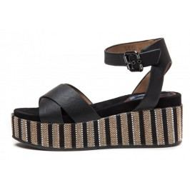 Wrangler sandały damskie Tempura Straw Cross 38 czarny