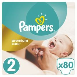 Pampers Pieluchy Premium Care 2 Mini (80 szt.)