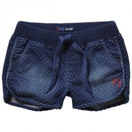 Pepe Jeans szorty dziewczęce Gizel 104 niebieski