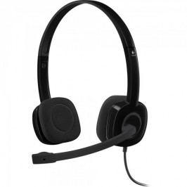 Logitech Słuchawki Stereo Headset H151 Black (981-000589)