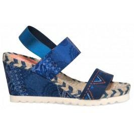 Desigual sandały damskie Ibiza Denim Beach 36 niebieski