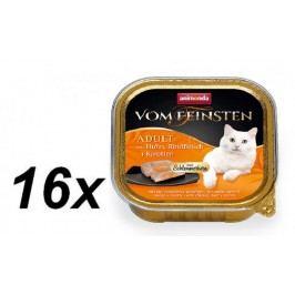 Animonda mokra karma dla kota V.Feinsten z kurczakiem, wołowiną i marchwią 16 x 100g