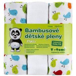 T-tomi Pieluszki bambusowe (3 szt.), Ptaszki