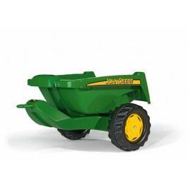 Rolly Toys Przyczepa do  traktora, zielona