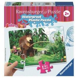 Ravensburger Puzzle Masza i Niedźwiedź Na Ryby 56057
