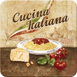 Postershop Metalowa podkładka Cucina Italiana 5 sztuk