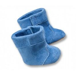 Heless Pluszowe buciki, niebieski