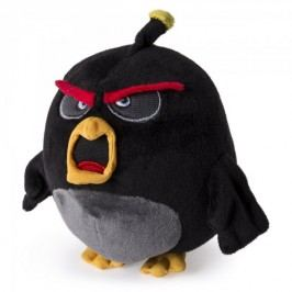Spin Master Angry Birds pluszowy Bomba 12,5 cm