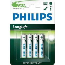 Philips baterie AAA 4 szt LongLife (R03L4B/10)