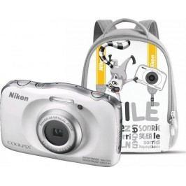 Nikon aparat cyfrowy Coolpix W100 Niebieski