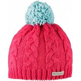 COLUMBIA czapka In-Bounds Beanie Red Camellia Spray OS