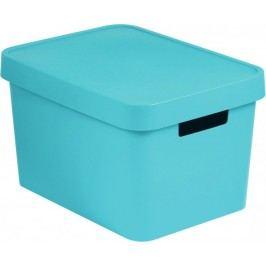 CURVER pojemnik z pokrywką Infinity, 17 l, niebieski