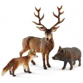 Schleich Zestaw leśne zwierzątka 41458