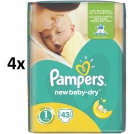 Pampers Pieluszki New Baby 1 Newborn - 172 szt.