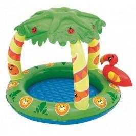 Bestway Dmuchany basen z daszkiem Dżungla 52179