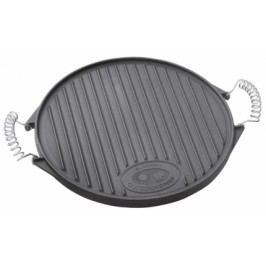Outdoorchef żeliwna płyta grillowa, rozm. M (39 cm)