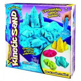 Kinetic Sand Podwodny świat + foremki 454g niebieski