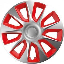 Versaco kołpaki Stratos Silver/Red - 4 sztuki, 13