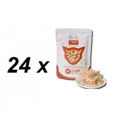 Brit saszetki dla kota Care Cat Chicken & Cheese - 24 x 80g