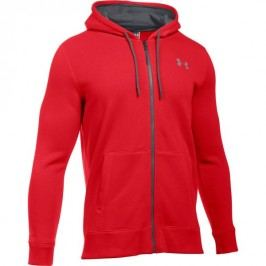 Under Armour bluza Storm Rival Cotton Full Zip Red Stealth Gray Graphite L
