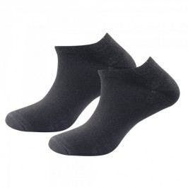Devold Daily Shorty Sock 2PK Black M (41-46)