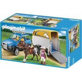 Playmobil 5223 Samochód z przyczepą dla koni