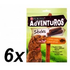 Purina przysmak dla psa ADVENTUROS Sticks 6 x 120g