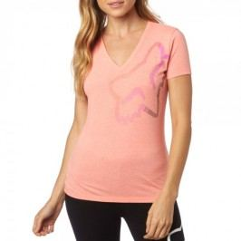 FOX T-shirt damski Perfor Vneck XS łososiowy