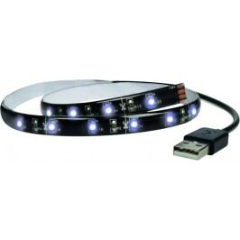 Solight Taśma LED 100 cm, USB, zimna biel