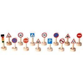 Plan Toys Znaki drogowe i światła