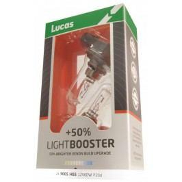 Lucas żarówki samochodowe LightBooster H7 12V 55W +50% - 2 szrtuki