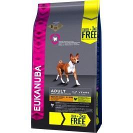 Eukanuba sucha karma dla psa Adult Medium Breed 15 kg + 3 kg gratis