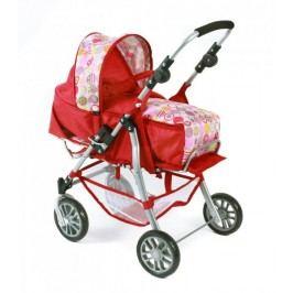 Bayer Chic Wózek dla lalek 3w1 EXCHANGE, czerwony