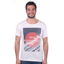 Mustang T-shirt męski S biały