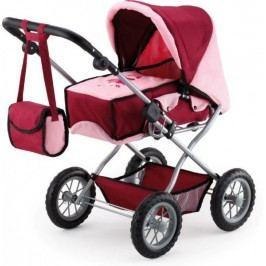 Bayer Design Wózek dla lalek Kombi Grande, czerwony