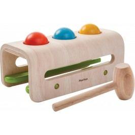 Plan Toys warsztat z młotkiem i kulkami